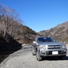 テラノレグラスで上野村へ~ダンロップのオールラウンドタイプSUV用タイヤ「Grandtrek AT3」で神流川沿いの河原をプチ走行してみた~