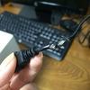 猫がキーボードを破壊