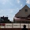 旧国立駅舎再築、とうとうここまで