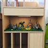 【100均アイテムを使ってレゴの世界観が広がる飾り方を実践してみた!】