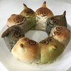 【作ってみた】スライムのリングちぎりパン【ドラクエ】
