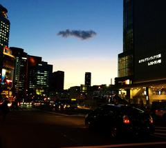 ★大阪駅 中央口前の横断歩道