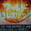 『ワールドプロレスリング』観戦記 2018年6月21日放送 ベスト・オブ・スーパージュニア優勝決定戦