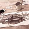 水彩de風景スケッチ 大阪 高槻の原で描く 1話 2019