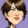 吉瀬美智子さんの似顔絵を描きました