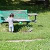 久しぶりの公園にゆうくんはしゃぎまくり