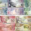 カナダドルの紙幣・貨幣、紙幣に描かれている人物の説明