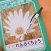 学用品の名前つけ。ノック式ペンが便利!