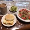 朝食はエッグマフィン