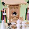 中神明一社 尾州桧の祭り例 中型サイズの一社神殿