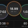 今日のTペース走/秋の練習