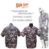 2018サンサーフ × ハワイ一番使用されているコットンリネン × アロハシャツ!
