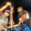 アカイカ釣り開幕戦