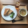 サバサンドと野菜スープ  7/10      金曜   昼