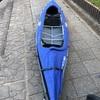 千葉亀山湖でカヌー