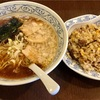 🚩外食日記(222)    宮崎ランチ   「ヌタイ商店」より、【こってり醤油ラーメン】【半やきめし】‼️