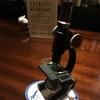 イギリスから顕微鏡!