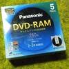 【手抜き日記】DVD-RAMメディア購入@無料で