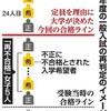 医学部入試不正への対応:東京医科大と順天堂大の説明