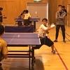 三重 卓球 中学校、鈴亀地区・新人戦 男子シングルス二回戦