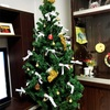 クリスマスツリーの飾りにリボンを☆すごく可愛くなりました