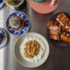 6/14(日)餃子、ナンプラー茹で鶏のにゅうめん