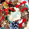 クリスマスリースを簡単手作り!100均アイテムと家にあるもので挑戦してみました。