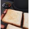 薪ストーブで作る休日の簡単朝食(トースト)