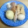 我が家の食卓ものがたり 即席熱々関東煮(おでん) 令和31皿 より。