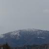 比良山系に初冠雪