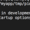 docker-compose upしたときに「A server is already running.」でサーバーが立ち上がらない問題