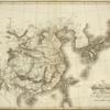 1814 英国 尖閣が台湾島から北東、八重山諸島からほぼ真北に描かれるチャイナ日本図