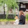 倉敷の観光名所、美観地区での撮影