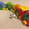 【おもちゃレビュー】『レゴデュプロ かずあそびトレイン』でレゴデビュー!のはずが・・・
