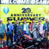 FANTASTICS大阪湊町でLIVE✨✨✨GENE大阪SEMMER SONIC模様😎