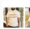 ネットショップができました【GitブランチTシャツ】