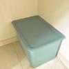 オムツ収納も100均で。ダイソースクエア収納ボックス深型を赤ちゃんのオムツ収納に