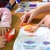 【折り紙講座レポ】イベントブースで折り紙コーナーの巻。