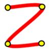 F#でWPF --- CatmullRom曲線の描画