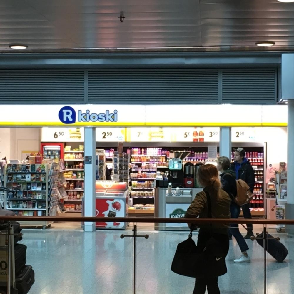 ヘルシンキのヴァンター国際空港でプリペイドSIMを購入