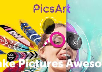『PicsArt』使ってる?アーティスティックな画像加工アプリならこれで決まり!