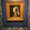 「真珠の耳飾りの少女」にはゴールドの額縁がよく似合う