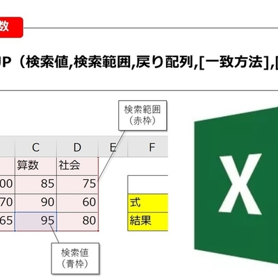 【Excel】朗報!これでVLOOKUPいらず!? 新たに登場するXLOOKUP関数とは?