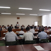 18、19日と共産党国会議員団8人が福島原発事故の調査で福島県、川俣町、南相馬市から聞き取り、避難者と懇談