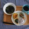 ランチ~自家製冷凍食品の巻