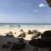旅の羅針盤:「砂山ビーチ」は、宮古島を代表する絶景の一つ。 ※遊泳するのは止めましょう。