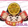 TBS「林修の歴史ミステリー 徳川家260年最大の謎 隠された財宝3000億円 徹底解明スペシャル」のキャラクター描いてます