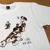 【猫の絵】ご当地Tシャツ
