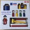 もらって嬉しかったおもちゃ。ボーネルンドのアンビトーイ・トドラーギフトセット。10か月から使える4種類のあそび道具。