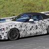 インテリアも明らかに BMW Z4のスパイショット
